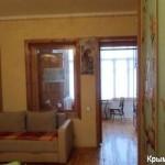 № 361 Крым, Ливадия - 1-к квартира, 56 м², 2/3 эт., пер Батурина.