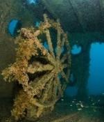 Затонувшее судно буксир «Байкал»