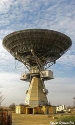 Радиотелескоп в Школьном (ТНА-400)