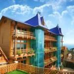 № 580 Крым, Гаспра - отель «Княжий град», ул. Лесная, 10