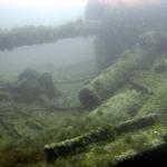 Затонувший сухогруз бухты Батилиман