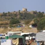 Кемпинг возле Чобан-Куле
