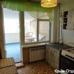 № 1252. Крым, Новый Свет-1-х комнатная кв, 1000 руб.