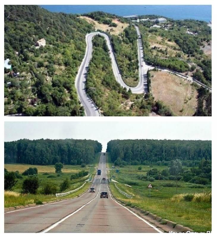 Какие дороги в Крыму