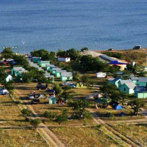 автокемпинг на берегу моря в Крыму 2017