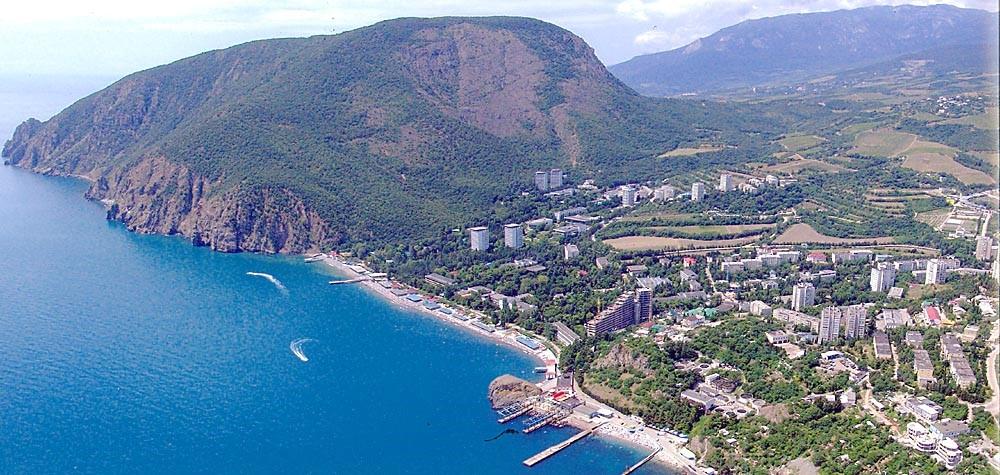 Гавань Партенита Крым