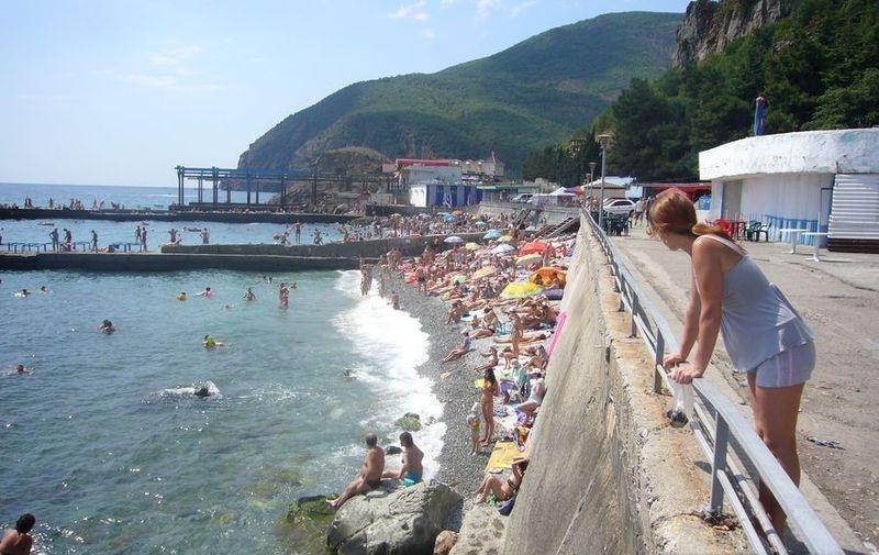Городской пляж Партенита